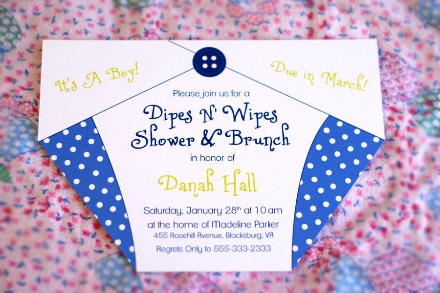 Pink Diaper Invitations as luxury invitation template