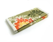 SALE - Jewelry Wallet Organizer Clutch for Home or Travel - Party Dress in Thyme