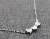 Cute Heart sterling silver chain Necklace - S2005