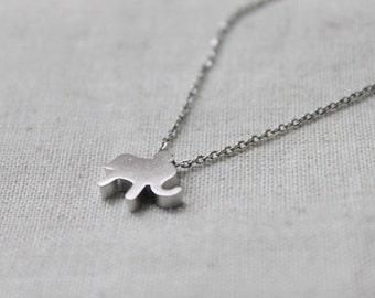 Cute elephant  Necklace - S2091-1