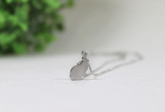 Cute Rabbit Necklace - S2228-1