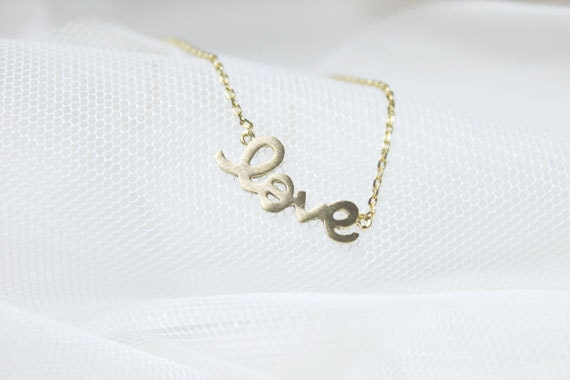 Adorable LOVE charm Necklace - S2212-2