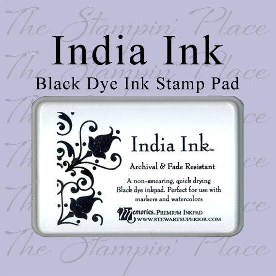 India Ink Black Stamp Pad