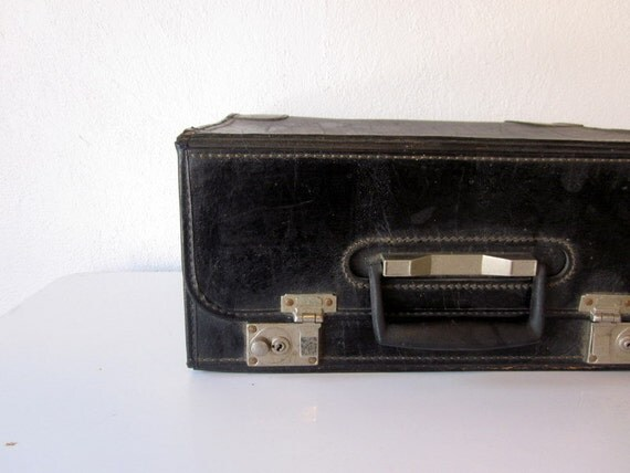 Vintage Black Salesman Catalog Case