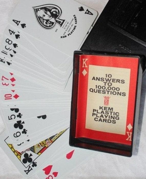 Vintage KEM Playing Cards - 1935