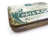 Vintage French Medicine Tin Box