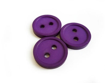 3 Purple Buttons