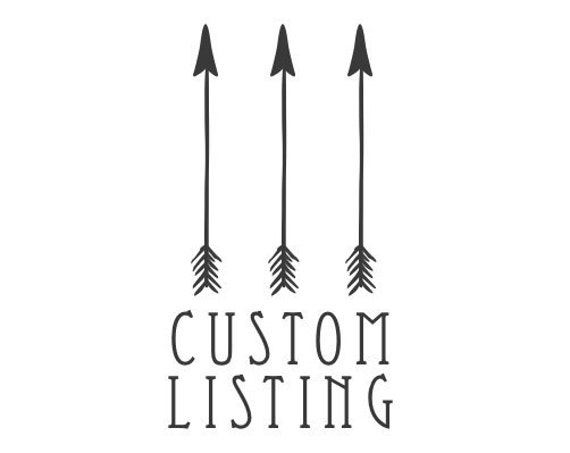 Custom Listing for Tracy