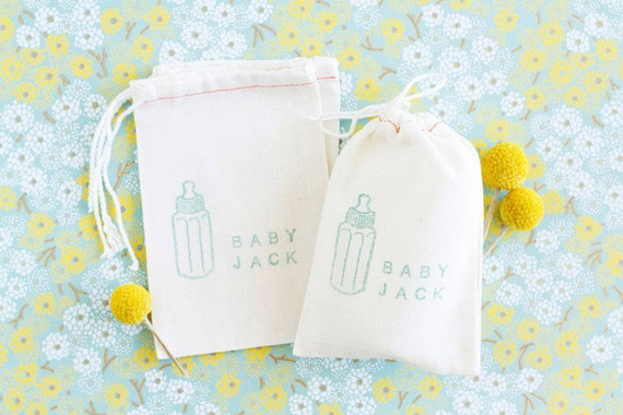 Baby Shower Favor Bags - Custom listing for ivs80