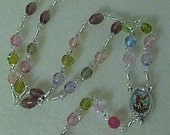 Brilliant Crystal Chaplet for St. Michael and the Choirs of Angels