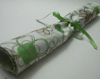Lavender Drawer Liner Green Zebra Floral