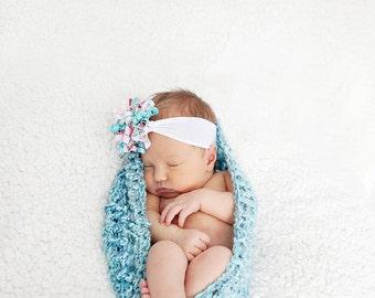 Chunky newborn bowl -AQUA