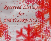 Reserved Listing for AMYLORENZO