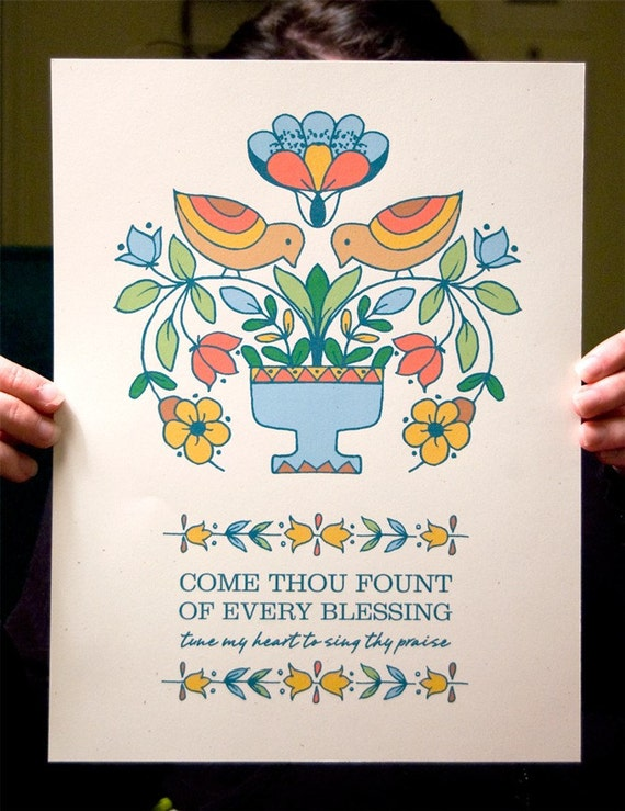 Come Thou Fount - small