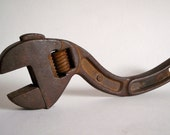 Funky Curved Wrench Heavy Duty