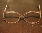 Vintage Adensco Rita Eyeglasses Frames Rose