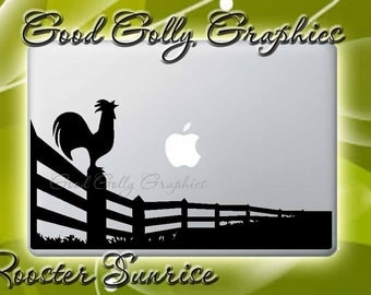 Rise and Shine Rooster vinyl decal