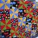Safari Primary Color Pinwheel Baby Quilt