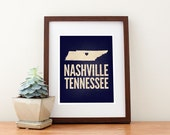 Nashville, Tennessee Love Print