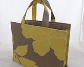"""Yellow/Taupe Medium """"Essentials"""" Bag"""