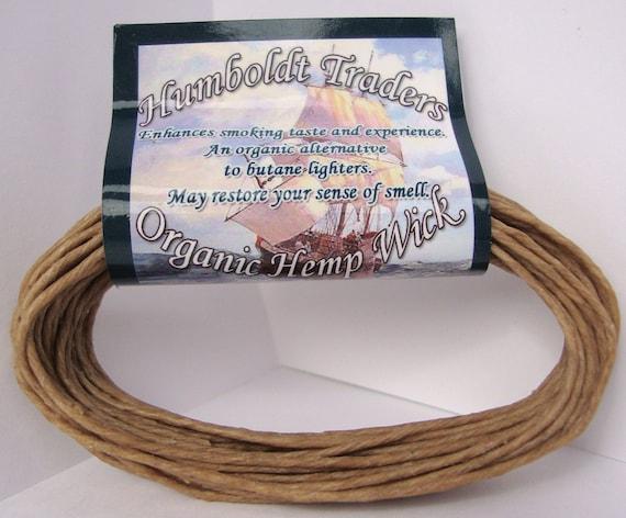 The Humboldt Wick Organic Hemp Wick Lighter - BEST WEB DEAL - 20 feet