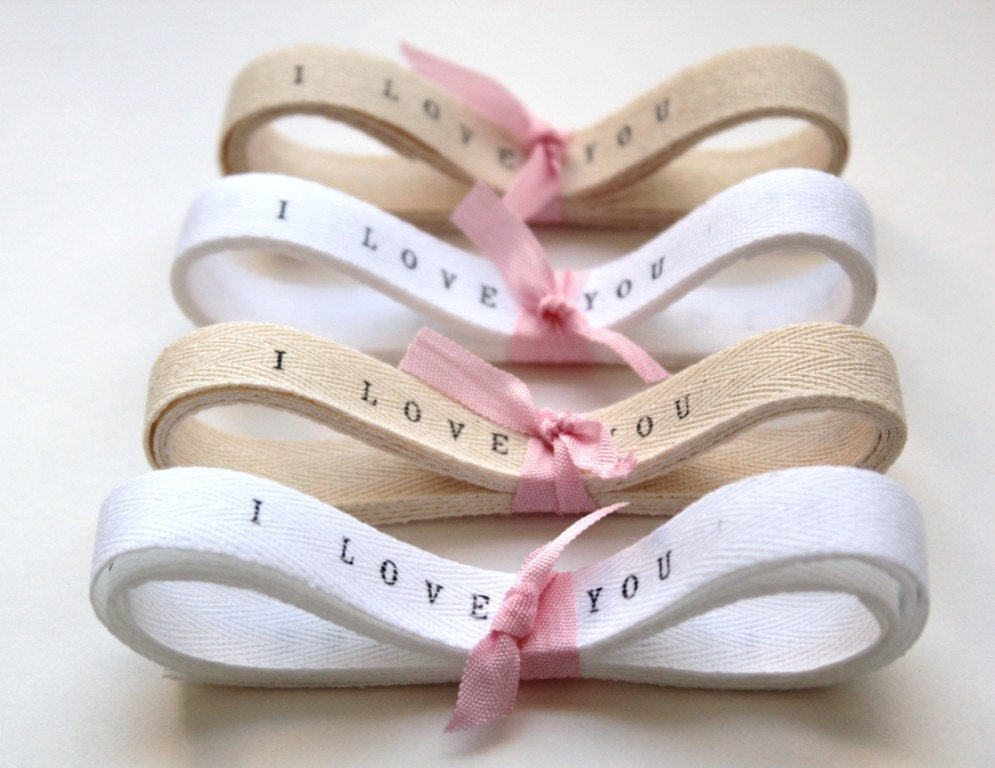 Personalised Wedding Gift Ribbon : Wedding Favors Ribbon . Custom Printed Ribbon Twill Tape 4