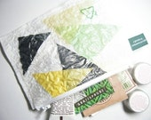Free Ship Recycled plastic pouch to carrying all your coin with other scrap paper