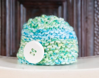 Button Beanie - Made to Order