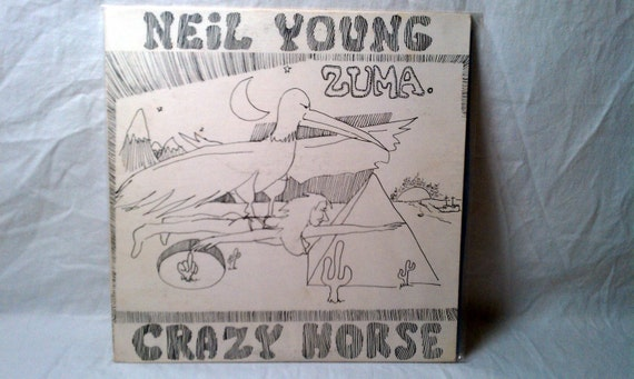 Neil Young Zuma With Crazy Horse Reprise Records Ms By