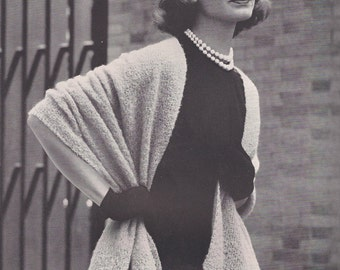 SALE-Midcentury Knitting Patterns- Vintage Womens Fashion- 32 to 38 Bust
