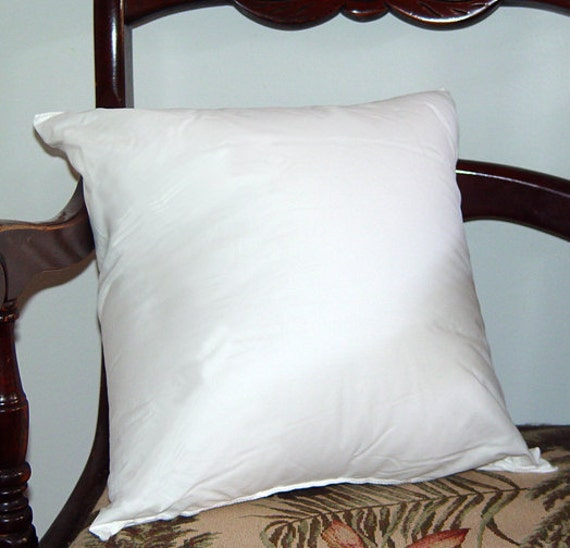 items similar to pillow insert form for 18 x 18 pillow cover on etsy. Black Bedroom Furniture Sets. Home Design Ideas