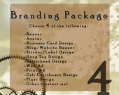 Custom Branding Package- Choose 4