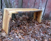 """Wonderfully Rustic Hickory Bench----Or ask for a """"custom"""" item"""