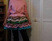 Ruffled apron, feminine and flirty--price reduced