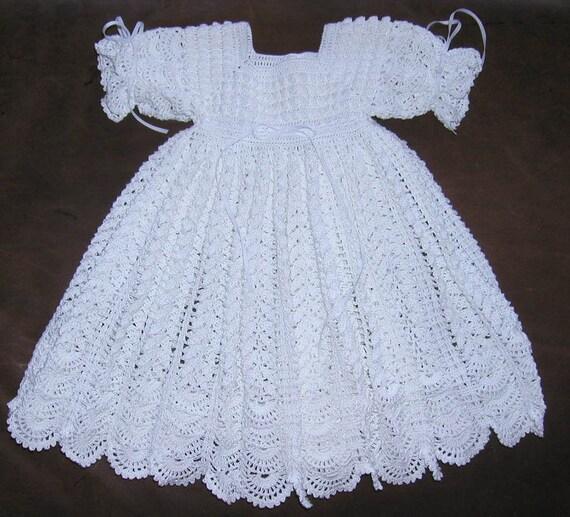 White Blessing & Christening Dress 13037-G