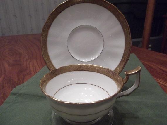 50% OFF-  Cauldon cup and saucer circa 1905-1920-  221
