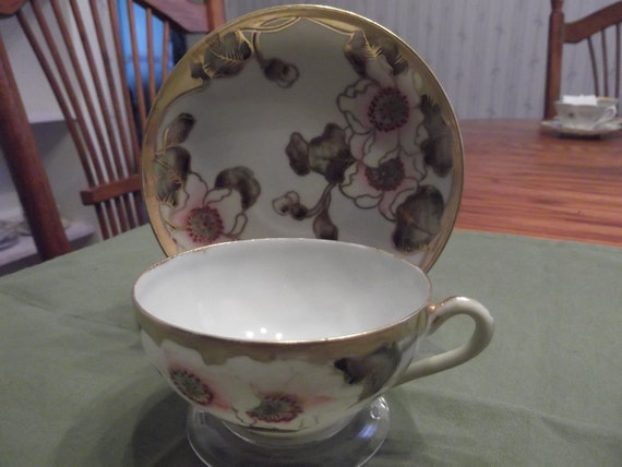 cup and saucer from Japan-  365