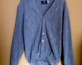 Hipster Sweater Gray Cardigan