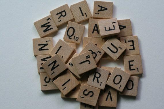 Scrabble Tiles - 30 Count