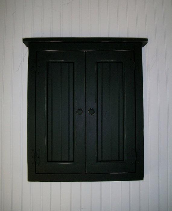 Handcrafted Nickie Dart Board Cabinet Bead board Doors