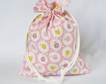 Drawstring Gift Bag Medium - Molly Timeless Treasures