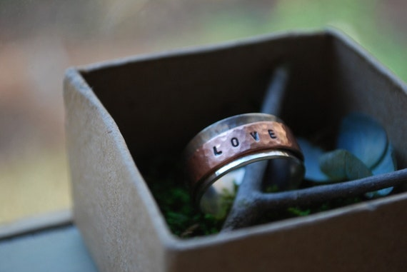 Spinner ring - Live Love Laugh SPIN ring