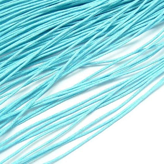 20 Yards 1mm Wax Cotton Cord 12333