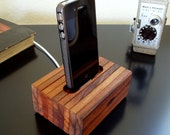 iPhone 4, 4S Cradle - Reclaimed Wood - iPhone Charger