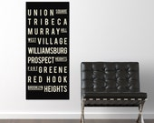 New York City Canvas Art - New York City Large Wall Art - New York Canvas - Canvas Wall Hanging - Dining Room Canvas - Gift for Son