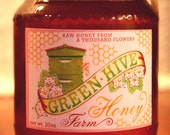 Raw Maine Honey from a Thousand Flowers