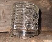 Windsor Pressed Glass Creamer, clear glass, serving
