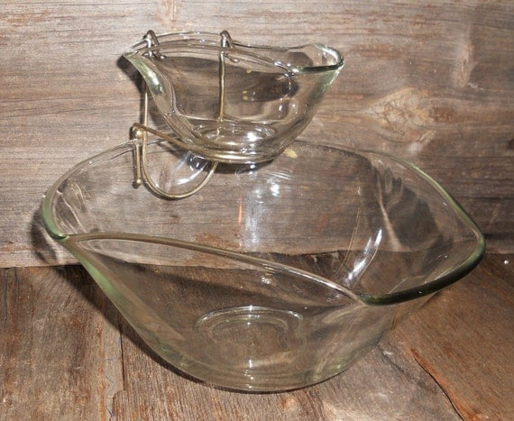 Chip & Dip, Indiana Glass, Serving