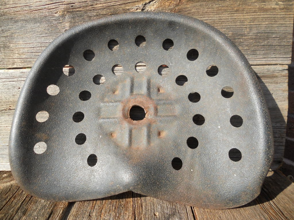 Old Tractor Seats : Vintage tractor seat
