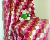 Vintage CROCHET Blanket AFGHAN HANDMADE